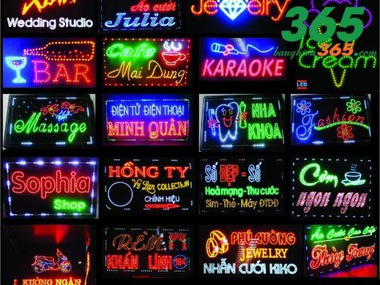 Bảng hiệu đèn LED tại Phan Thiết, Bình Thuận