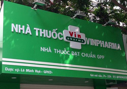 Làm Bảng hiệu nhà thuốc tại Phan Thiết, Bình Thuận