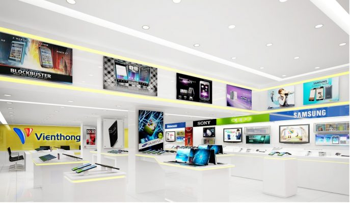 Thi công gian hàng showroom tại Phan Thiết Bình Thuận