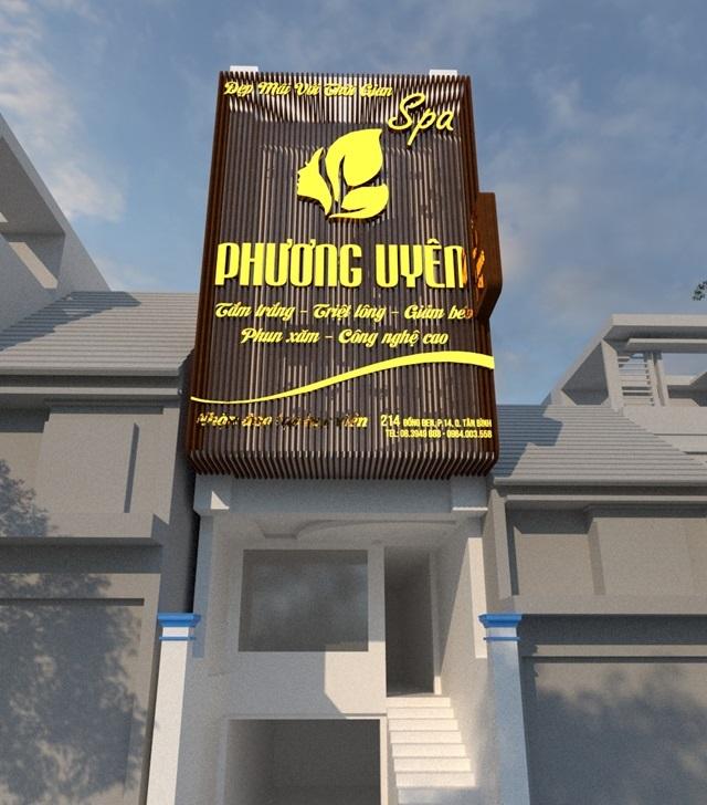 làm bảng hiệu spa đẹp tại Phan Thiết, Bình Thuận
